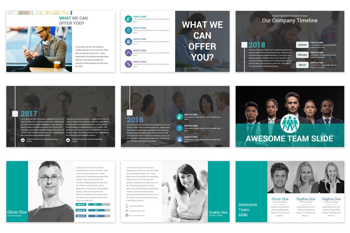 Mega Solutions Keynote Template example image 7