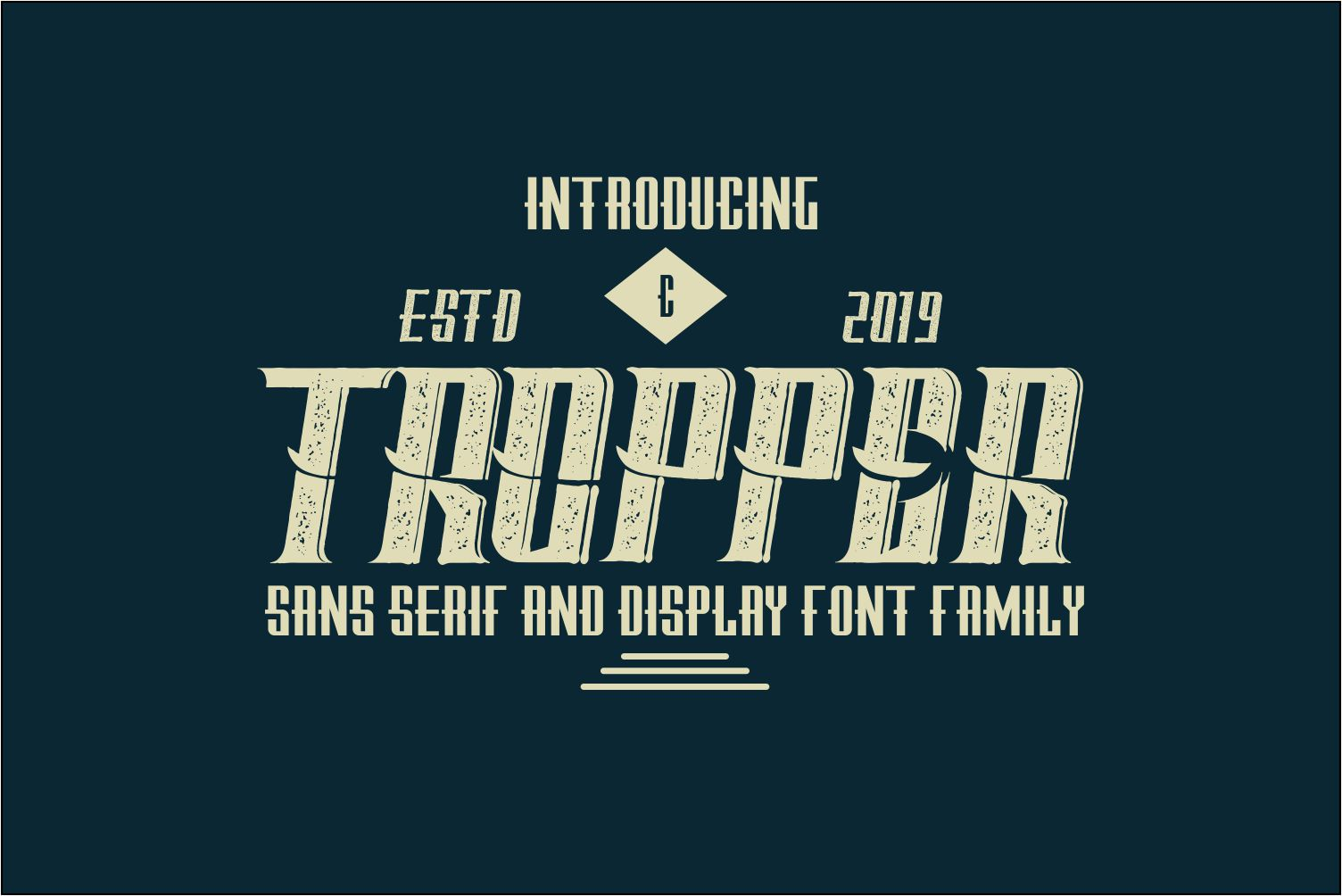 Tropper - 10 Elegant Fonts example image 1