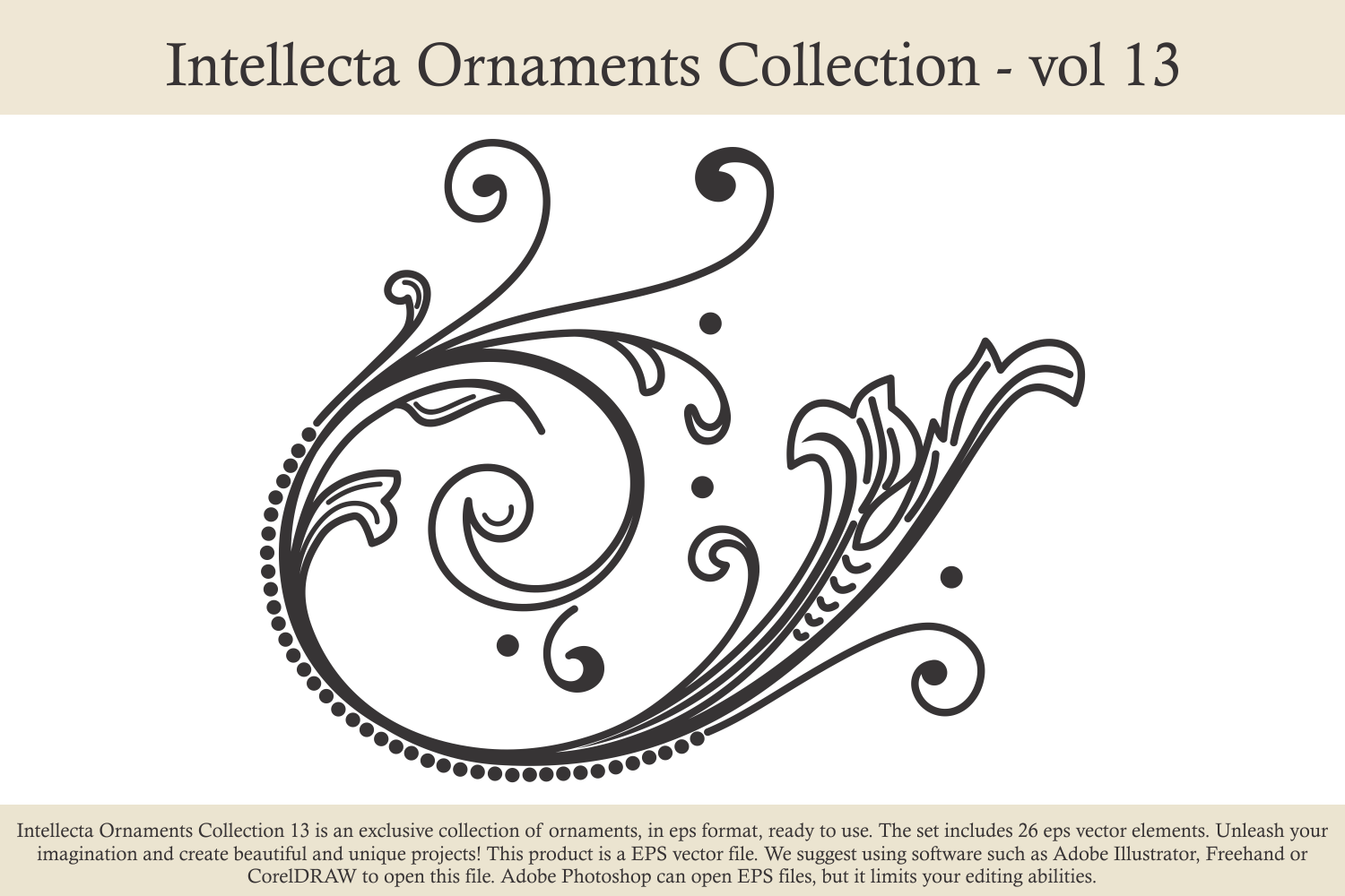 Intellecta Ornaments Collection 13 example image 3