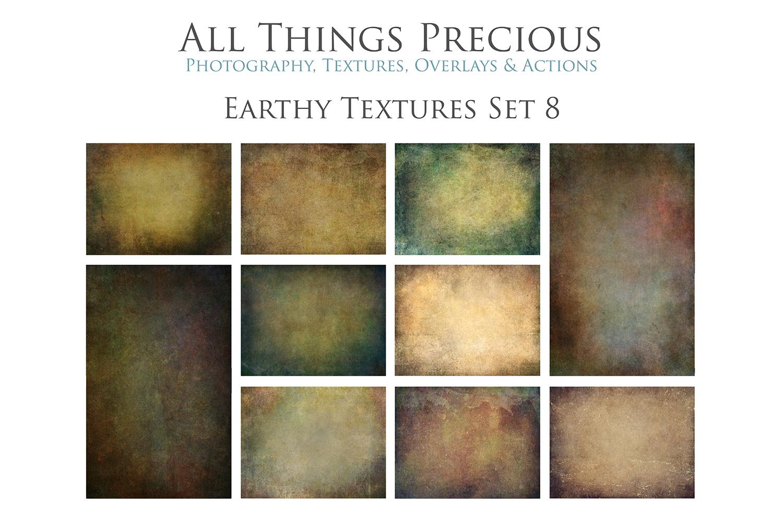 10 Fine Art Earthy Textures SET 8 example image 1