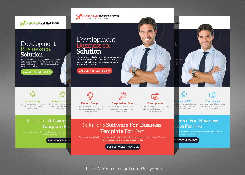 Creative Business Flyer Bundle example image 2
