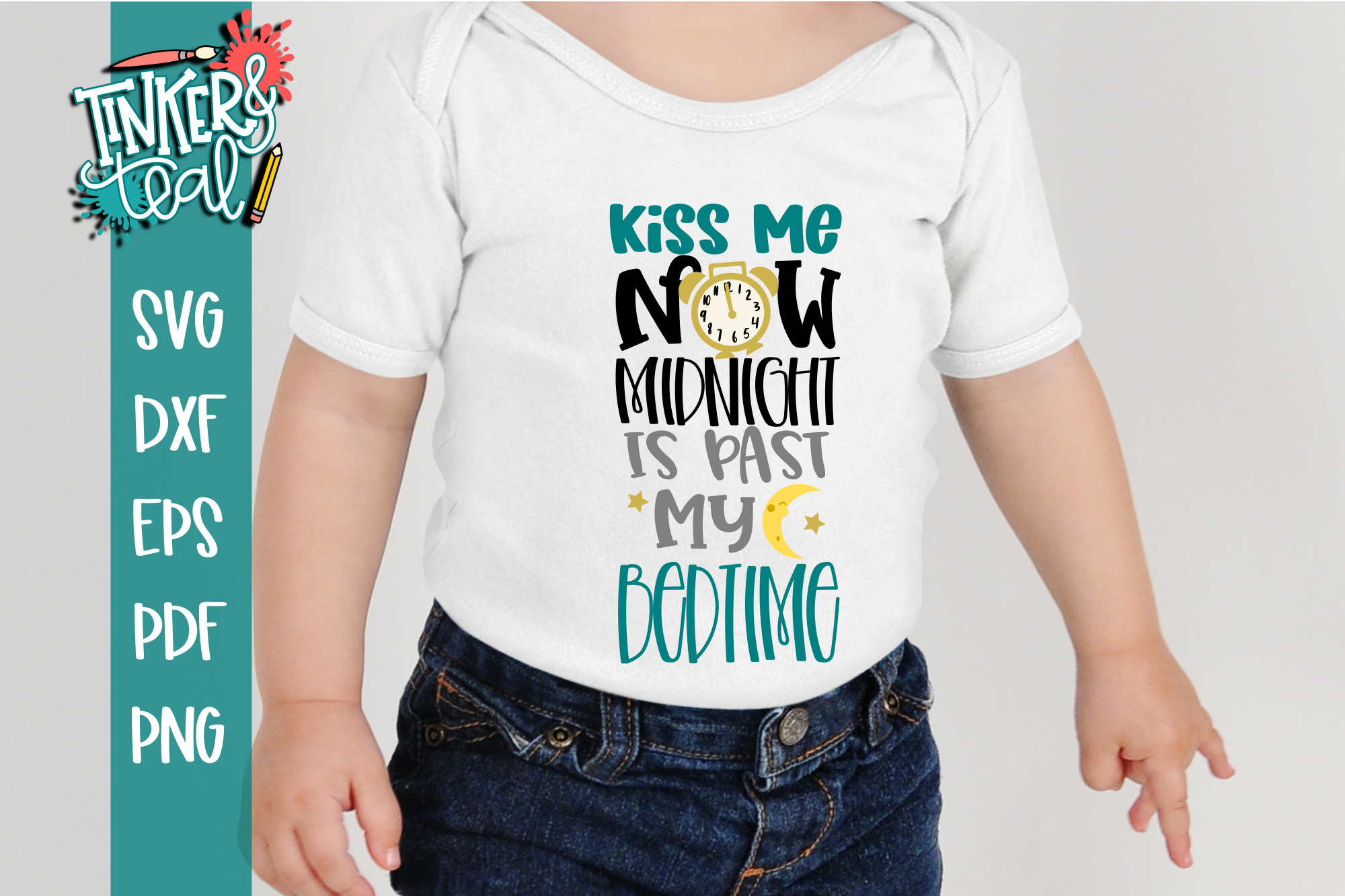Kiss Me Now New Years Funny SVG example image 1