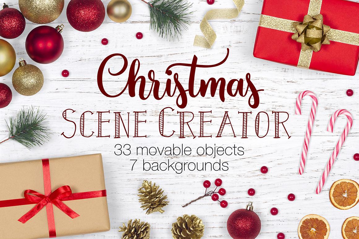 Christmas Scene.Christmas Scene Creator