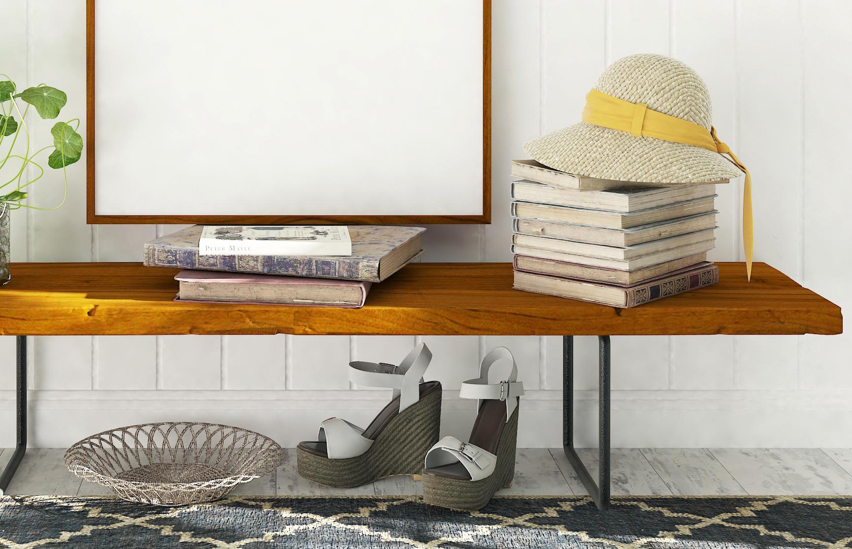 Styled Stock Photography, Frame Mockup set, vertical&Horizontal example image 3