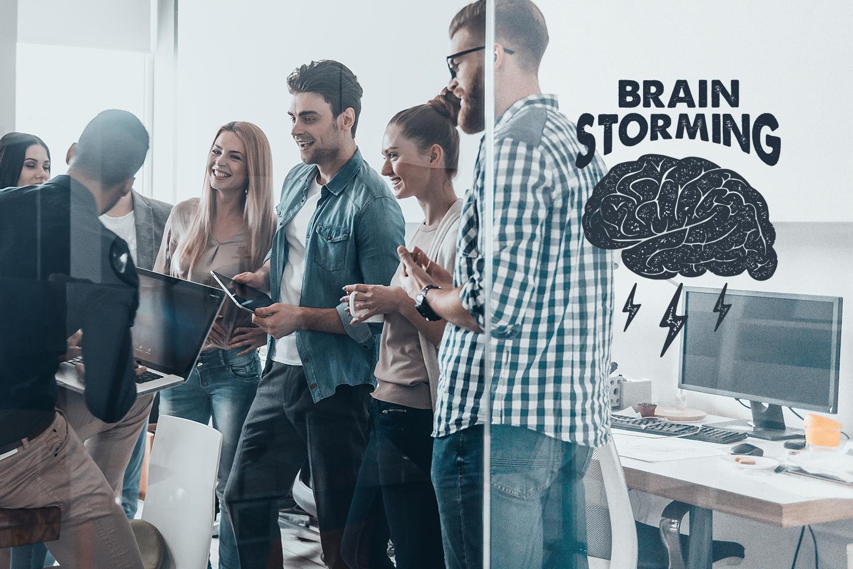 BrainStorming. 09 Smart Badges example image 4