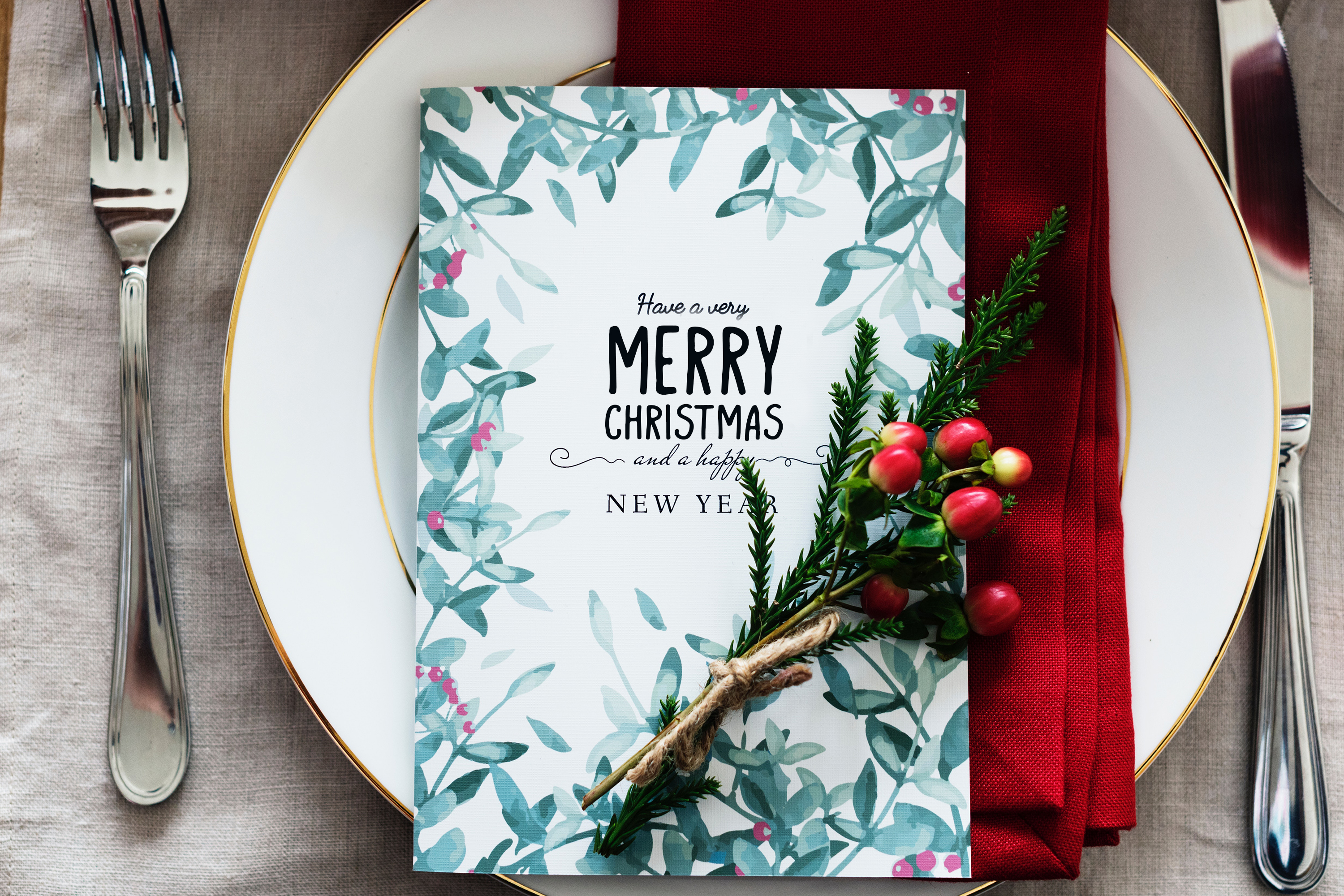 Merry Christmas display font and doodles example image 9