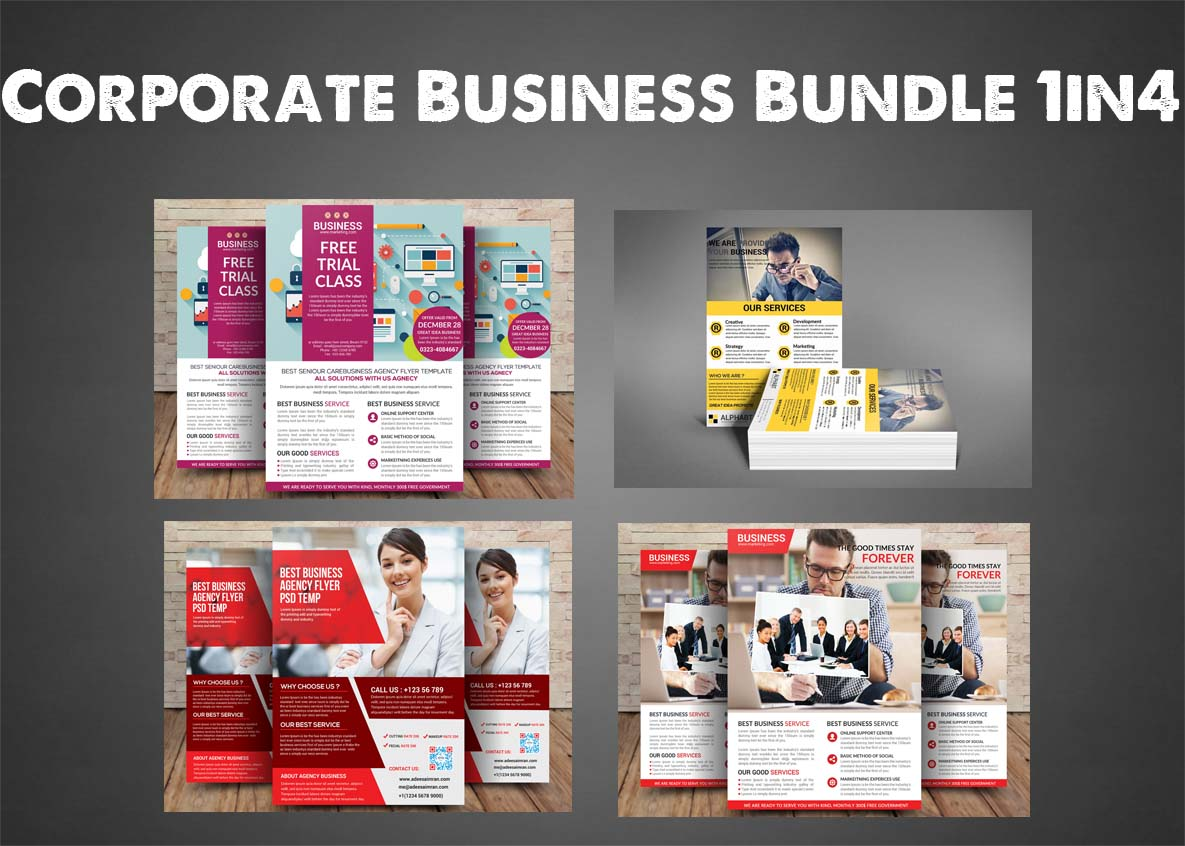 Corporate Business Bundle 4 example image 1