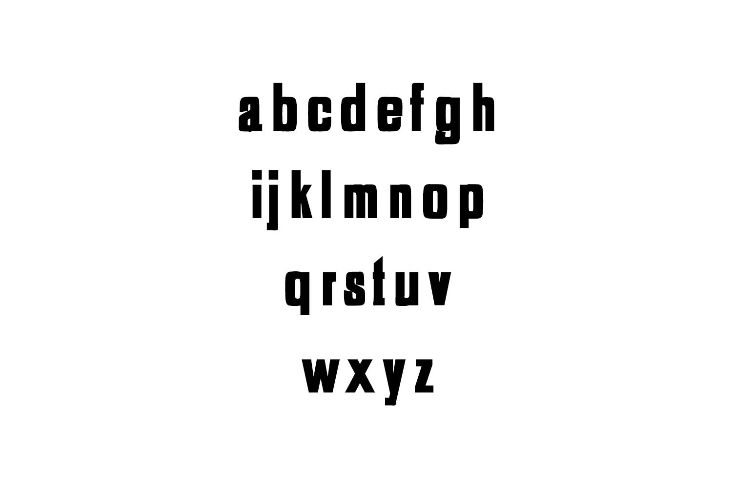 Adyson Sans Serif Typeface example image 3