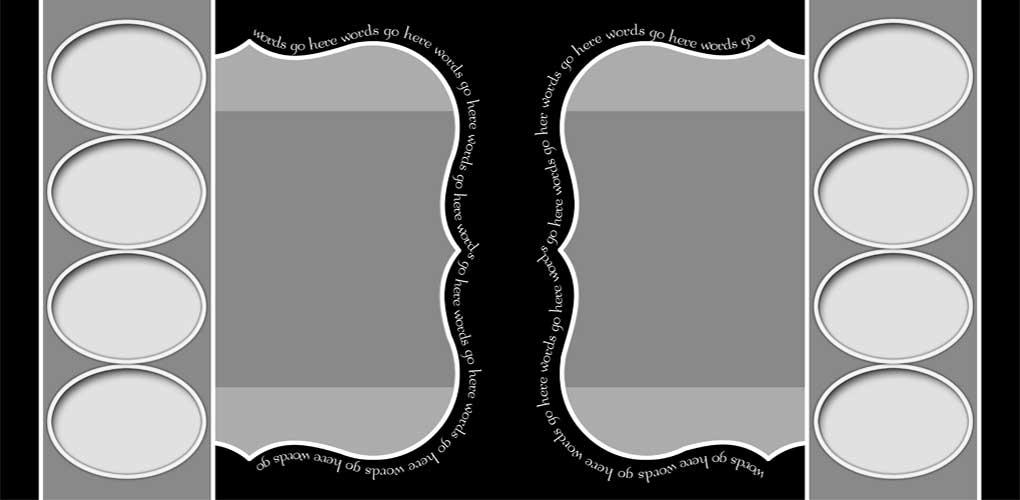 Digital Scrapbook Templates Bundle 3 example image 14