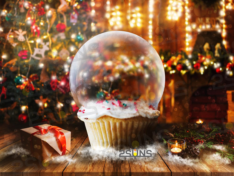 67 Christmas, overlays, photoshop PNG backdrop snow globe example image 4