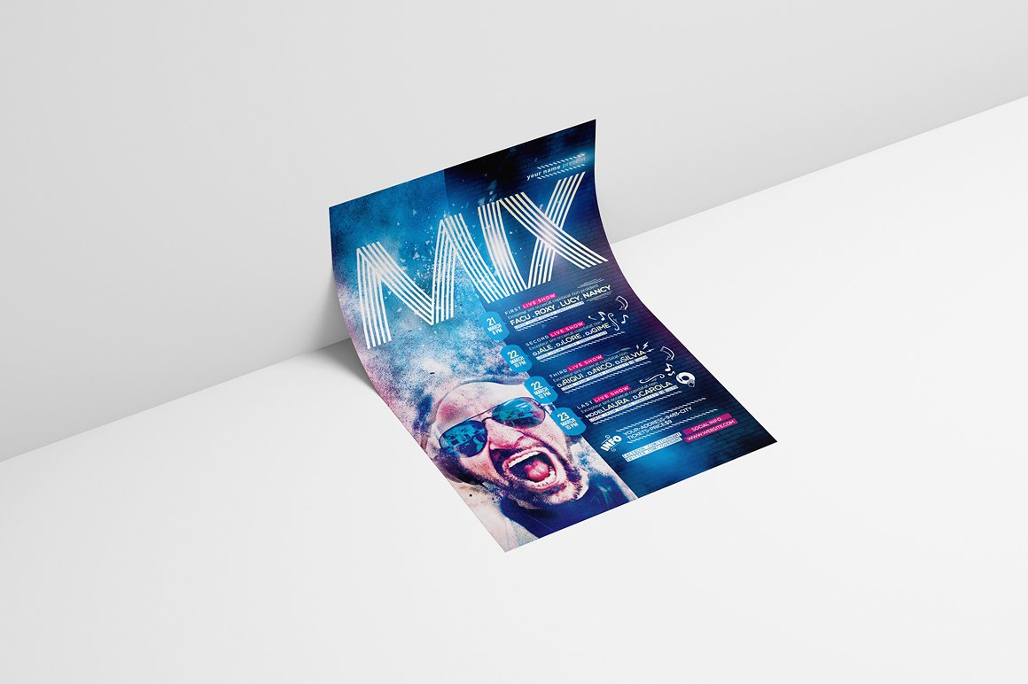 Mix Show Flyer Template example image 3