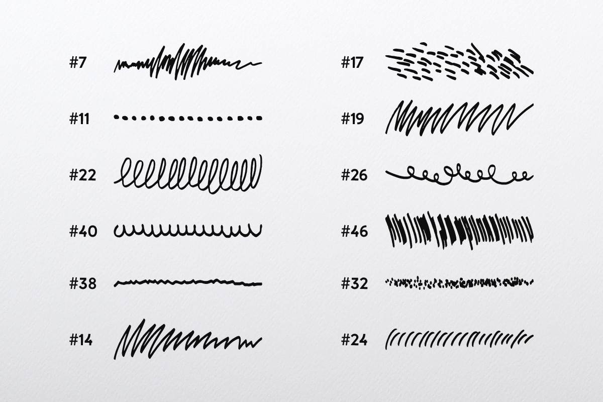 Doodle Brush Collection example image 2