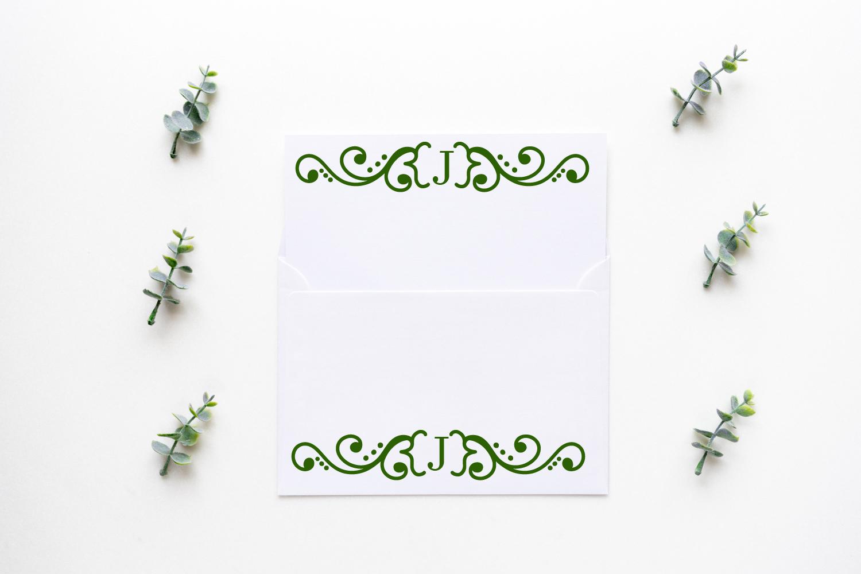 Garnish - A Fancy Flourish and Monogram Font example image 4