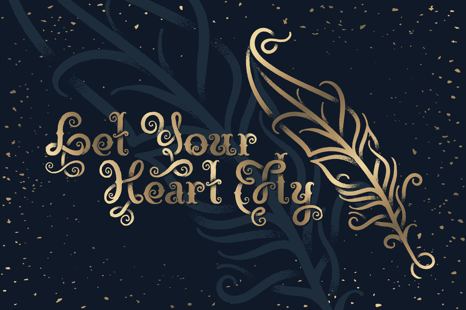 Magic Garden Font & Graphics example image 4