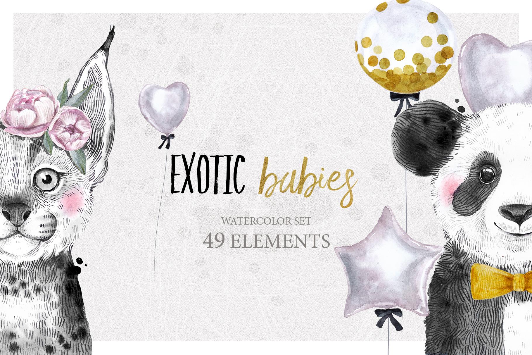 ANIMAL BABIES BUNDLE - 30 OFF - example image 5