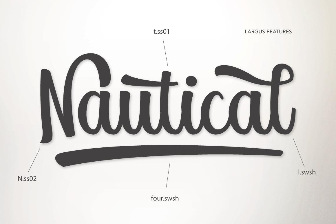 Largus Typeface example image 7