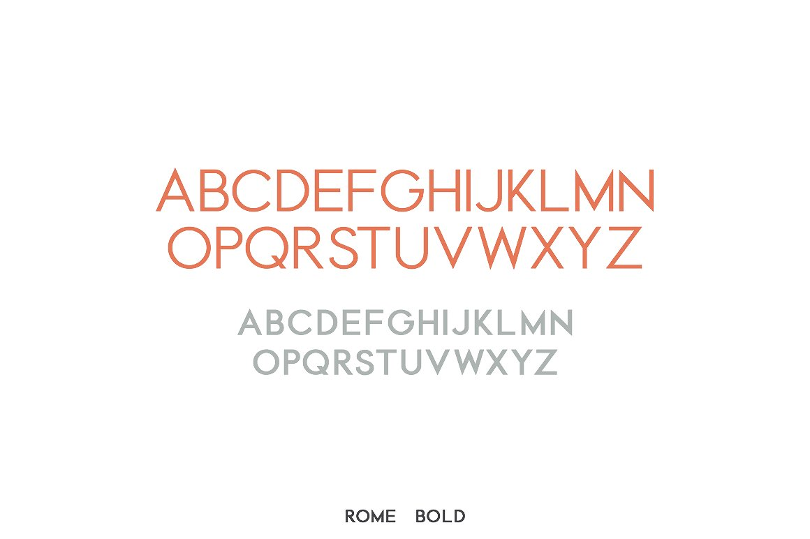 Rome | A Stunning Sans Serif example image 6