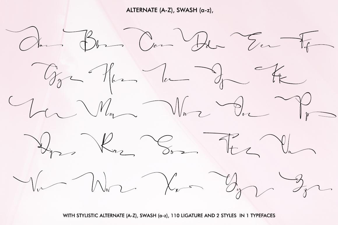 Black Pink Signature example image 7