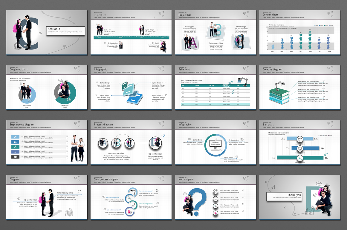 School PowerPoint Template example image 2