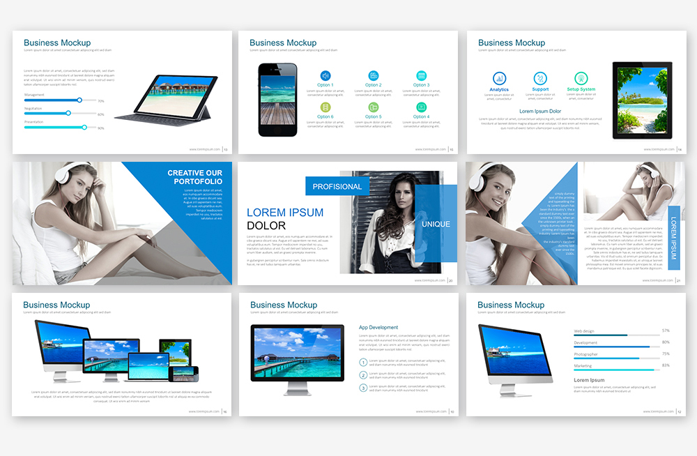 EB Powerpoint Template example image 2