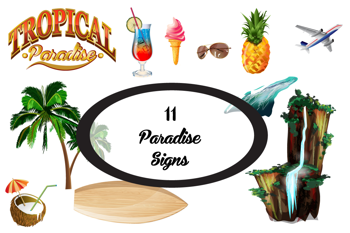 Tropical paradise. example image 2