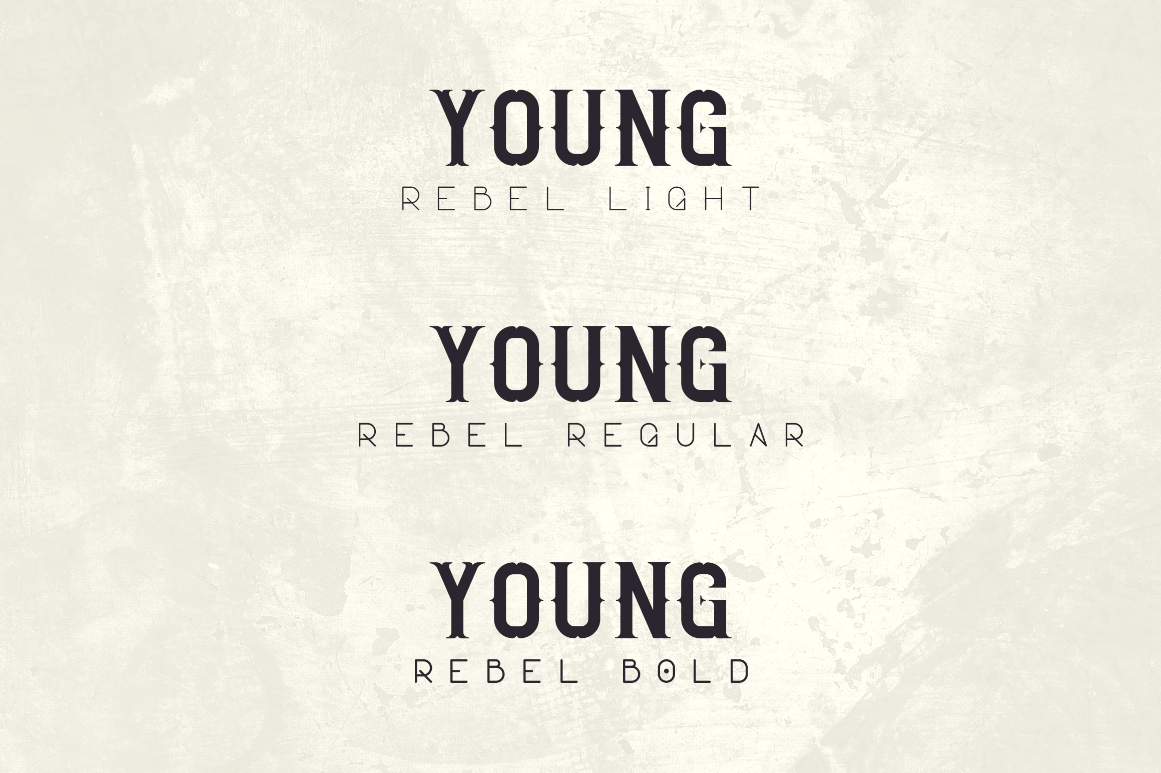 Young Rebel Font Duo example image 4