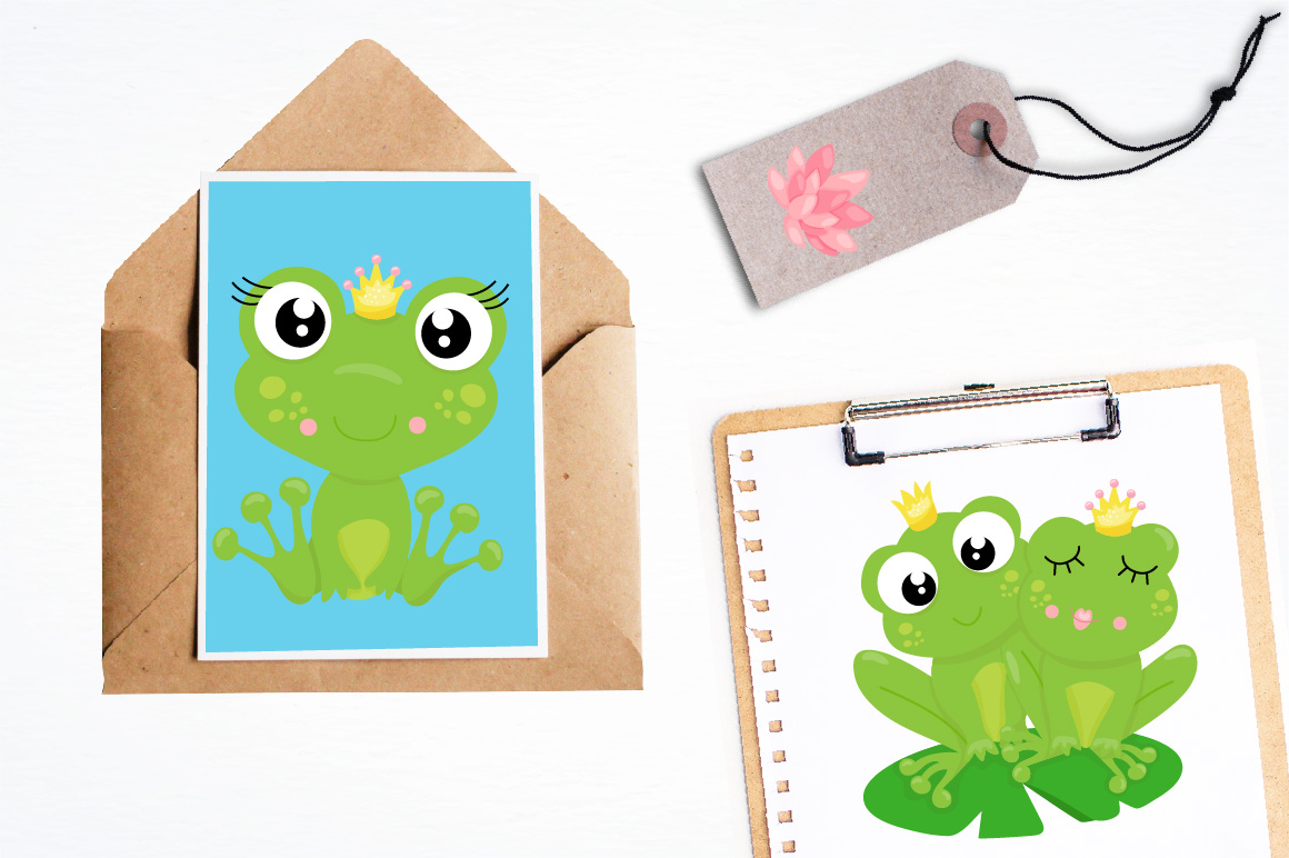Frog prince graphics and illustrations example image 4
