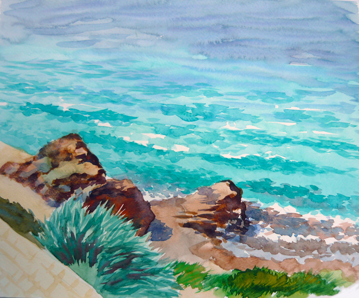Watercolor Seascapes example image 5