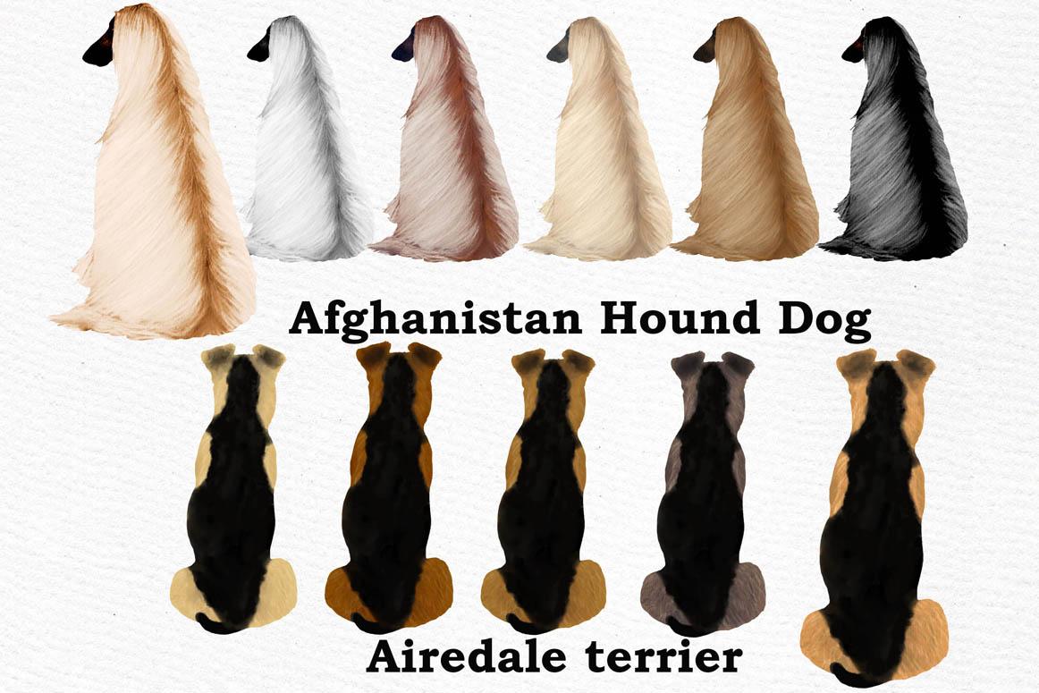 Dog clip art, Watercolor dogs, Maltese Bichon Cane Corso example image 4
