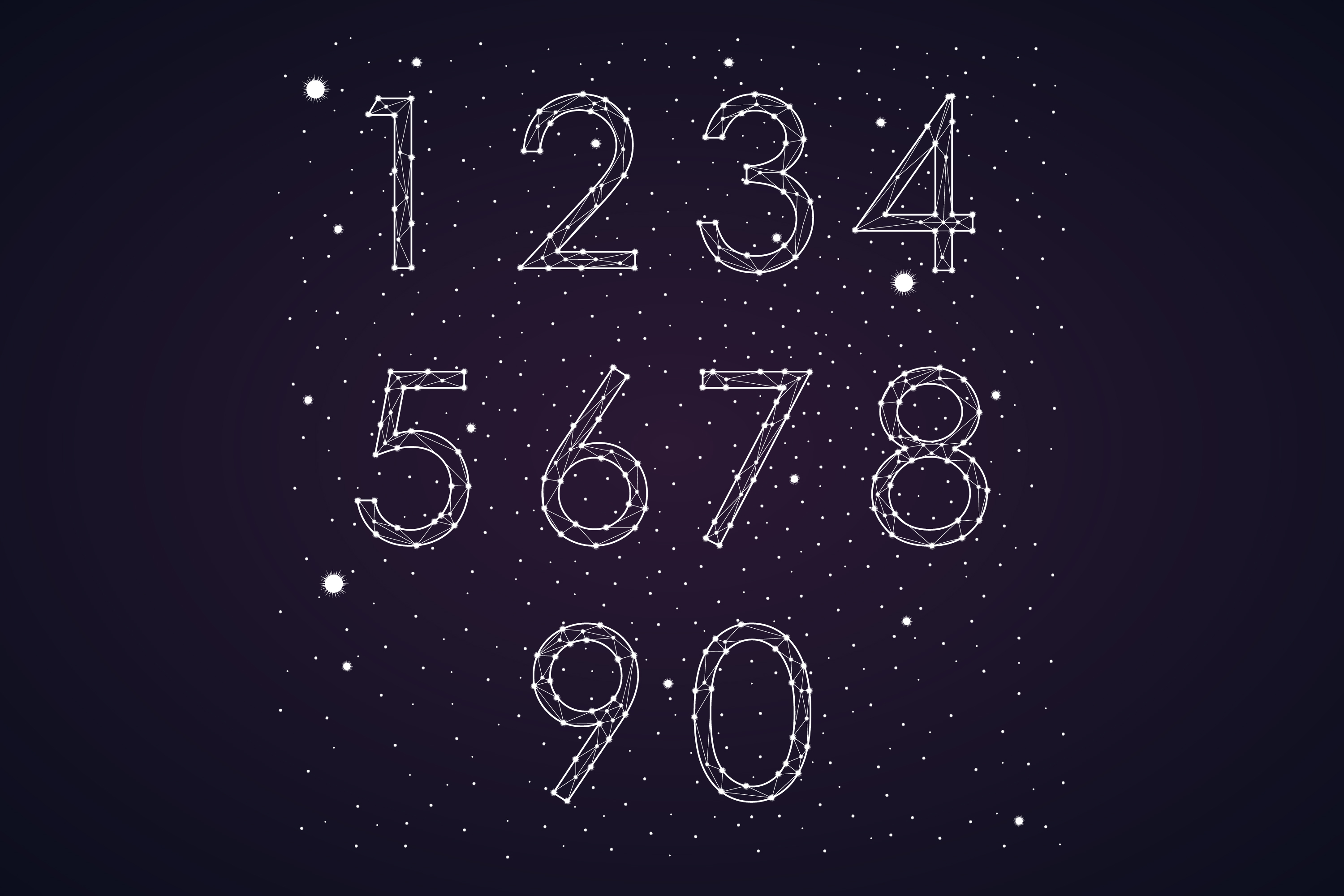 Font constellation example image 4