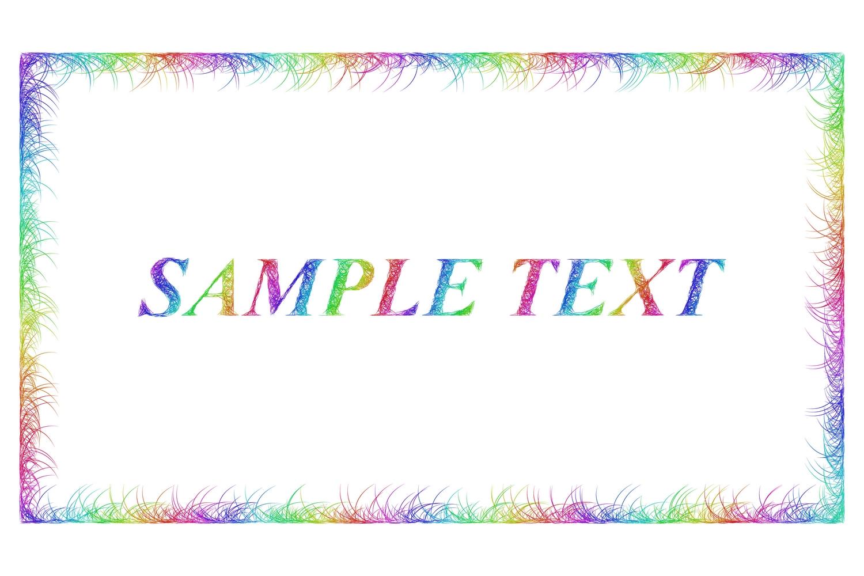 16 sketch frame designs (AI, EPS, JPG 5000x5000) example image 4