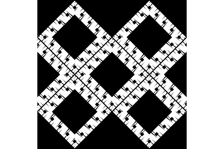 Ethnic boho ornament. Set of 10 seamless patterns. example image 8