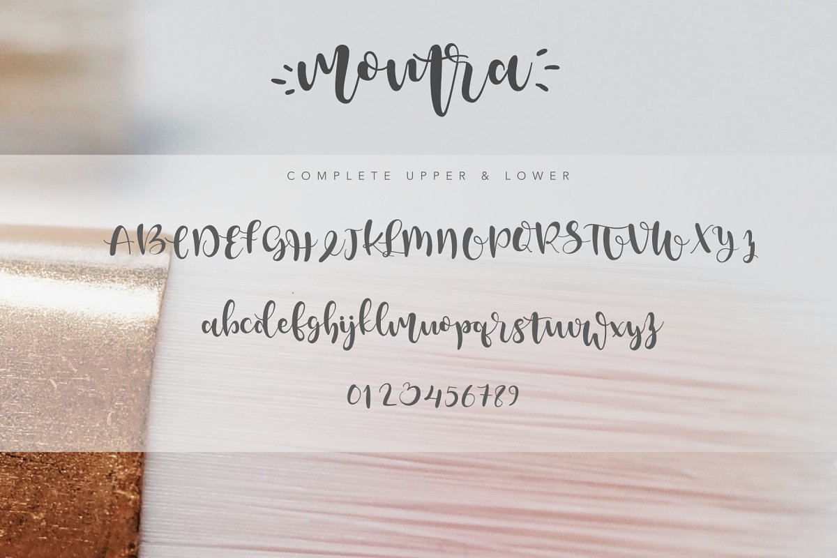 Montra Script example image 4