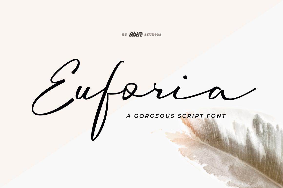 Euforia Typeface example image 1