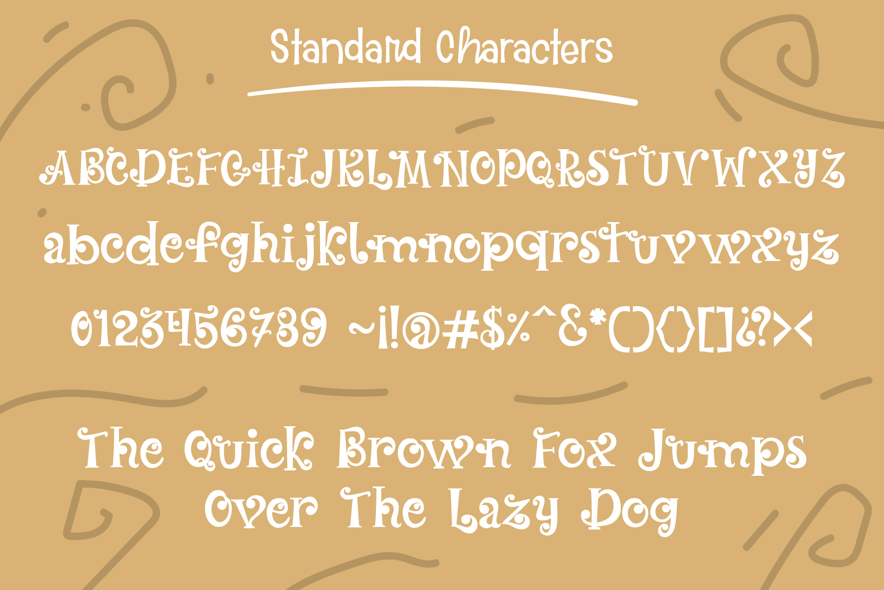 Oyster Shores Font example image 2