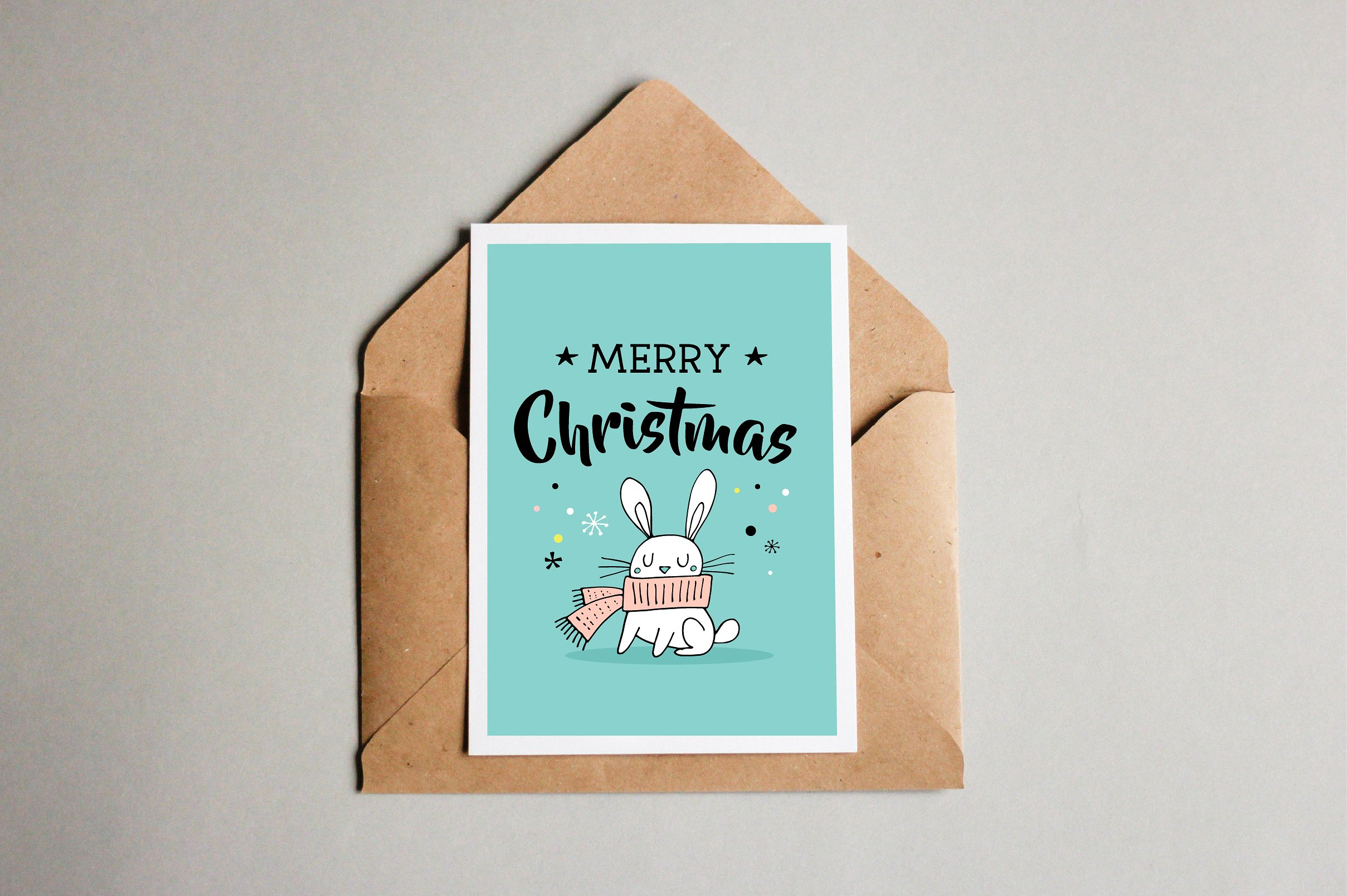 Merry Christmas greetings & doodles  example image 6
