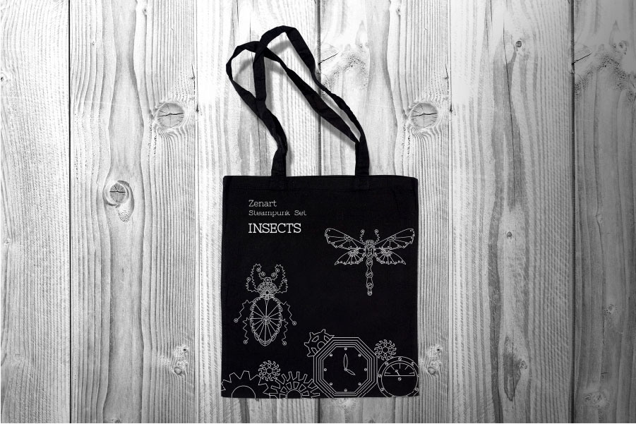 Zenart Steampunk Insects Set example image 8