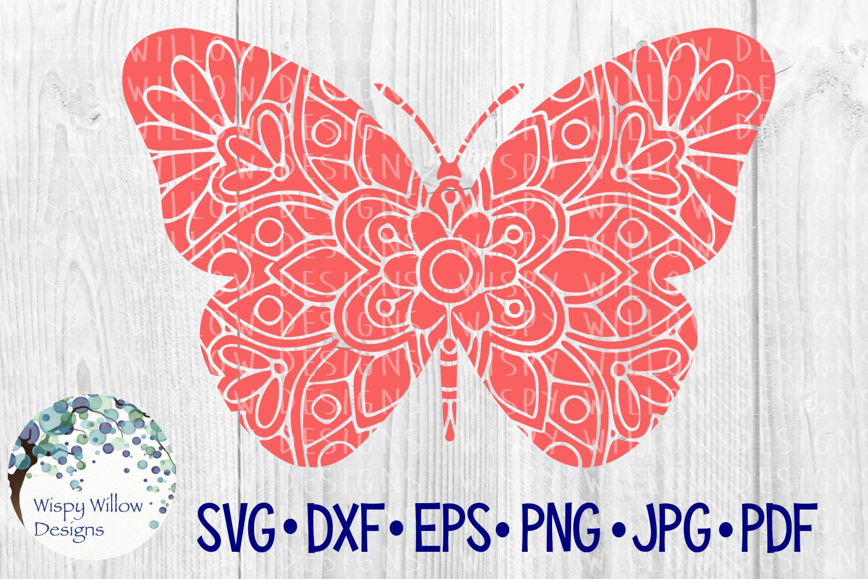 62 File Mega Floral Mandala Animal/Figure SVG Bundle example image 14