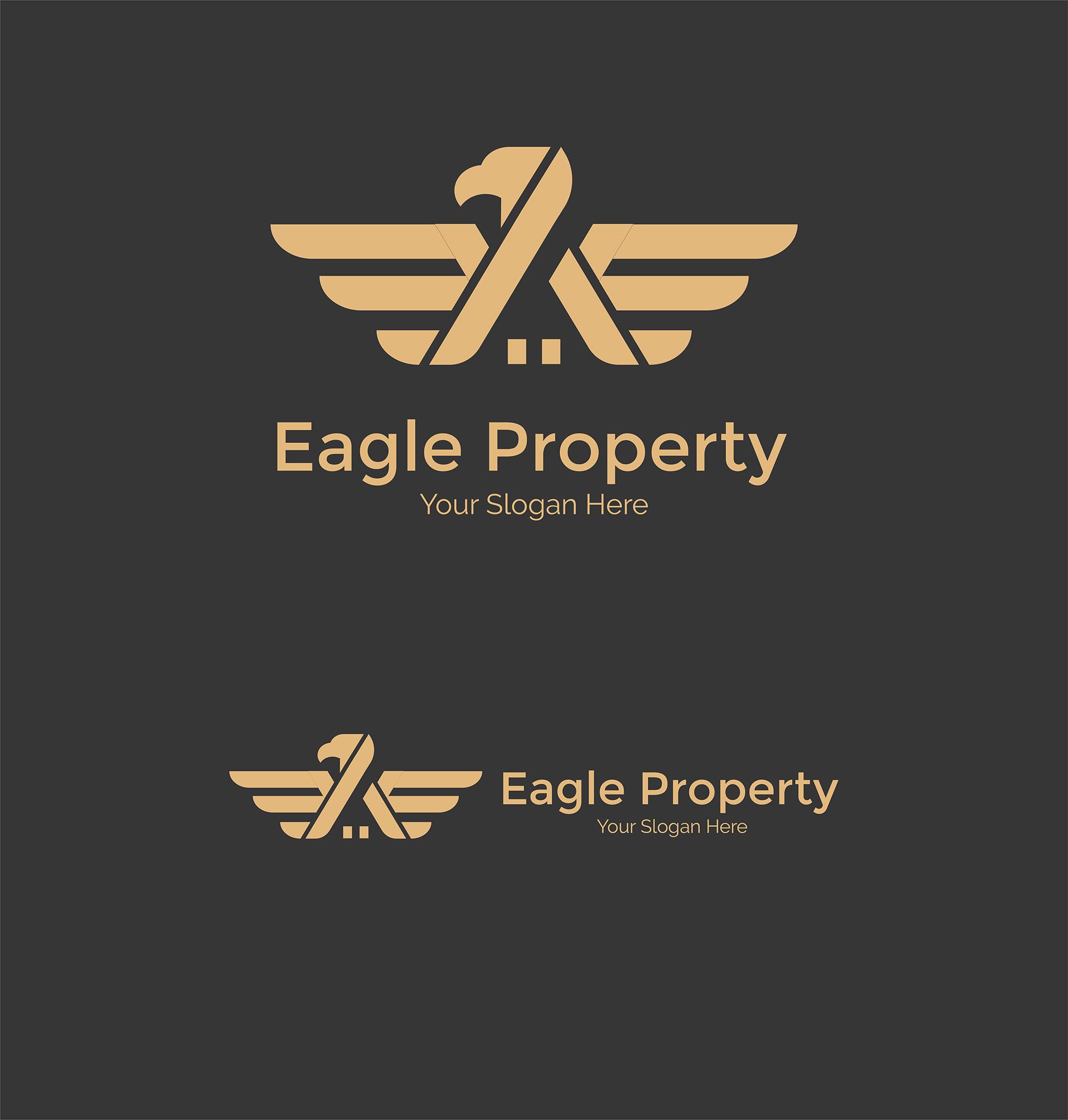 Eagle Construction Logo - Animal logo example image 5