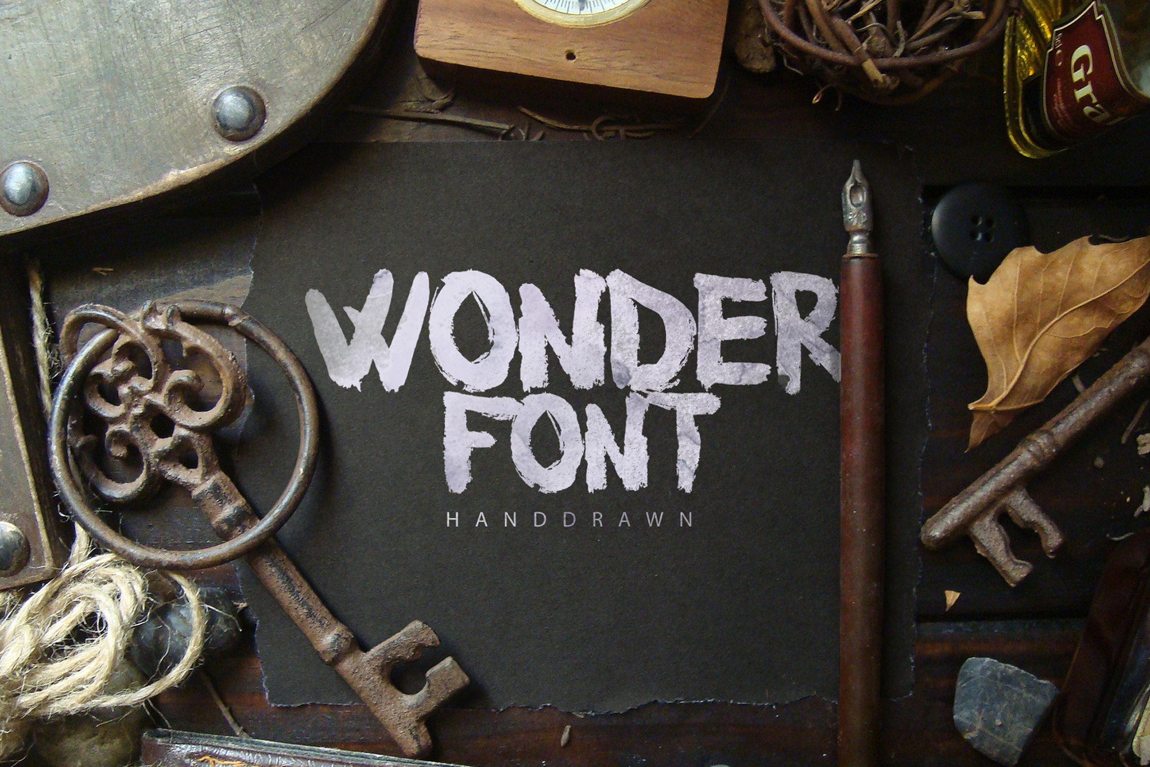 25 Fonts Bundle example image 17