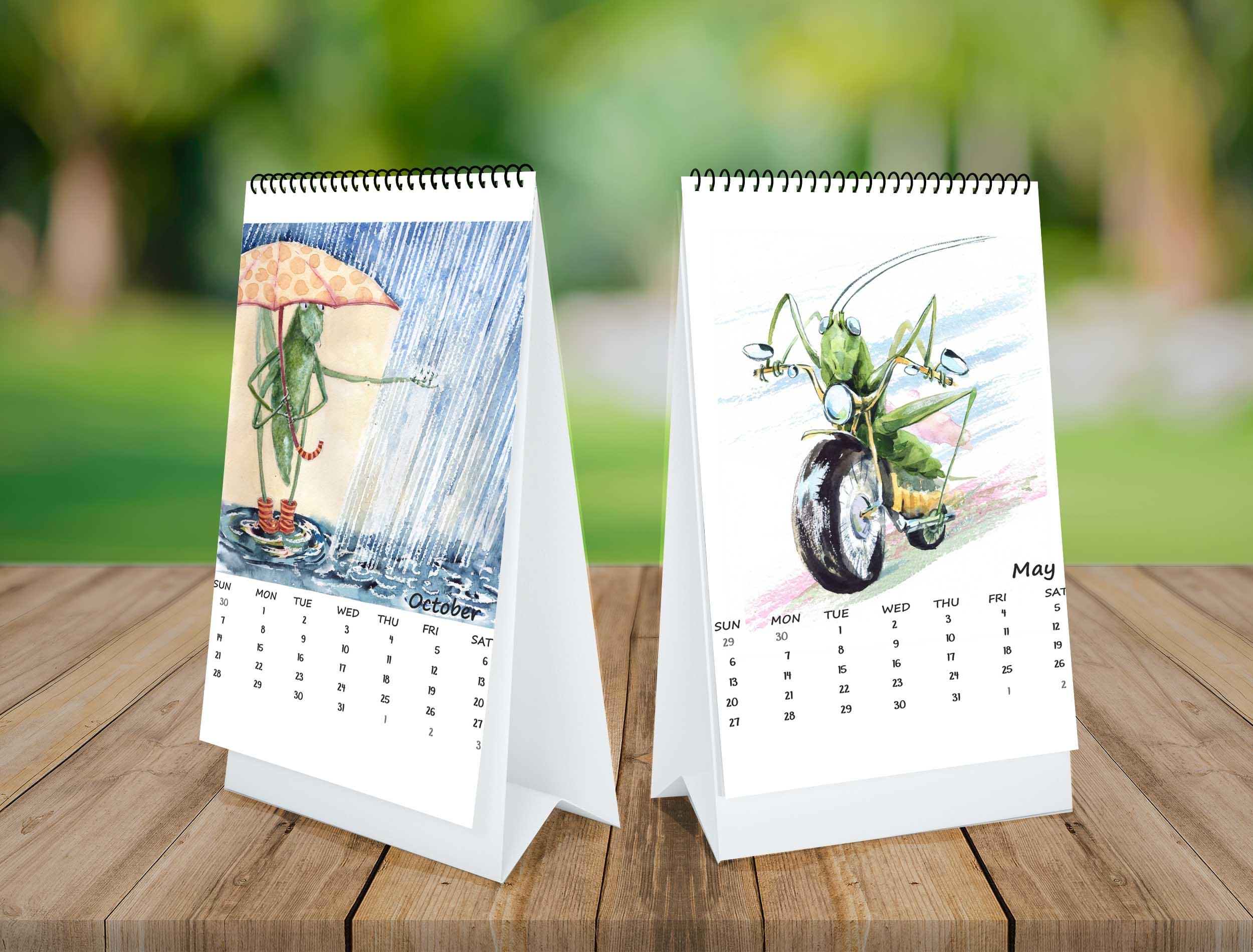 Calendar 2018 example image 4