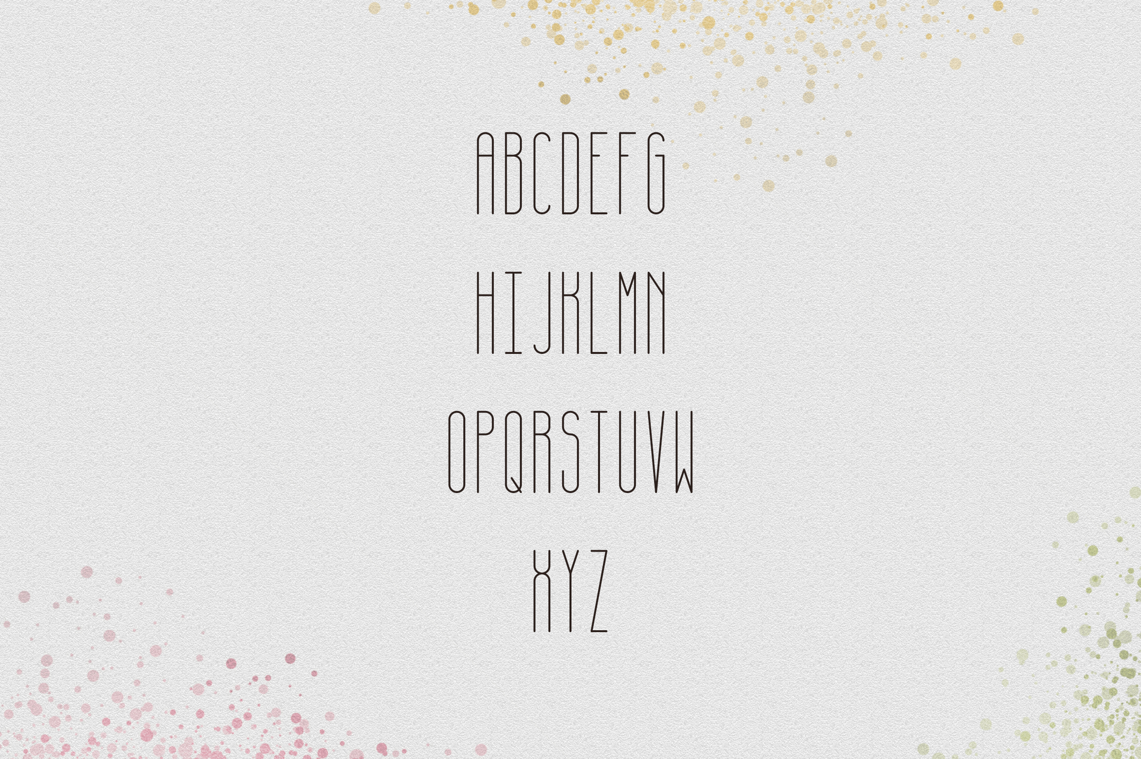 [Spring Vibes] April Display Font example image 2