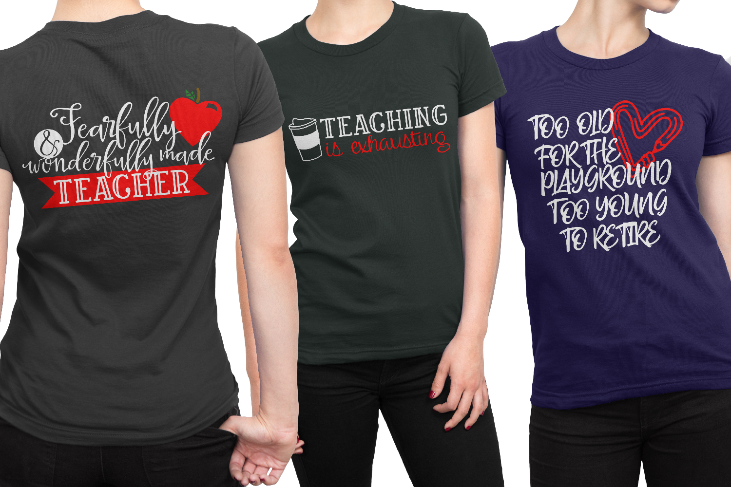 Teacher Gifts Bundle - 24 SVG's for the Whole Staff! example image 2