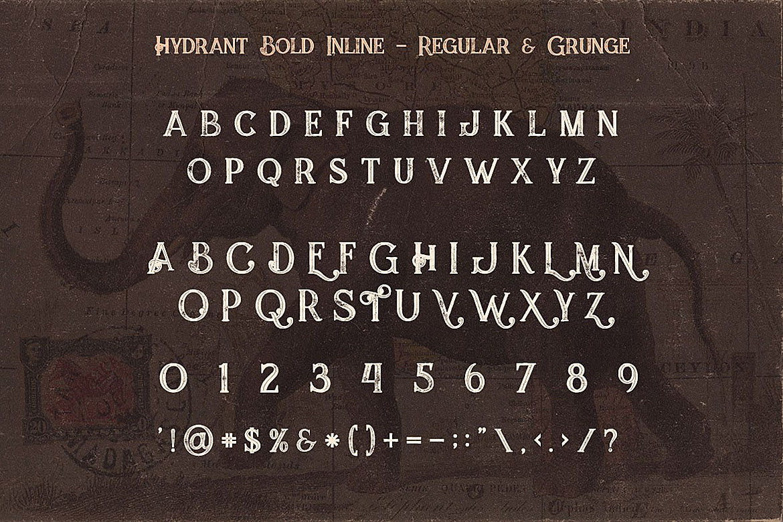 Jumbo Font Trio example image 7