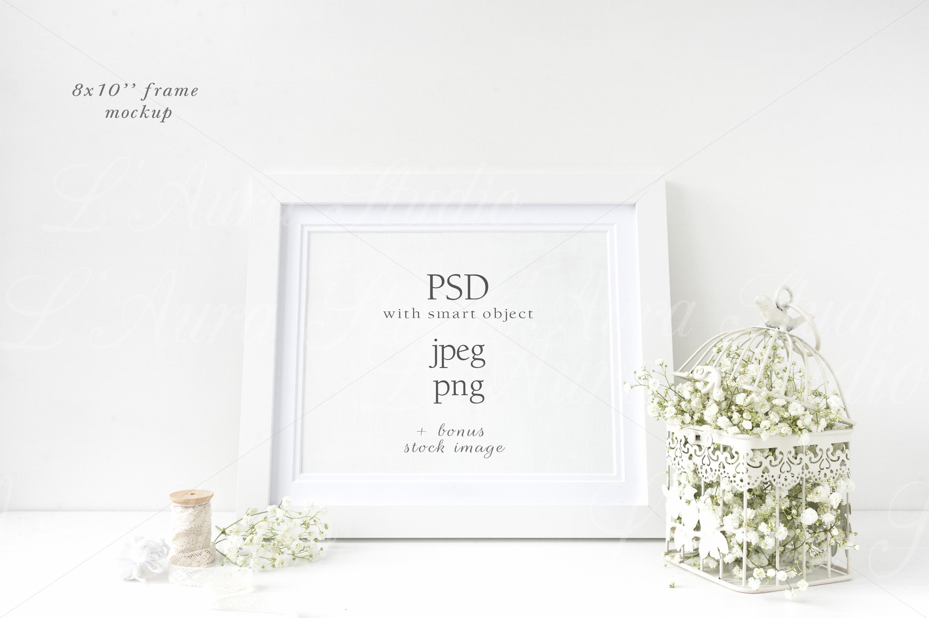 Wedding Frame Mockup - wfr225 example image 1
