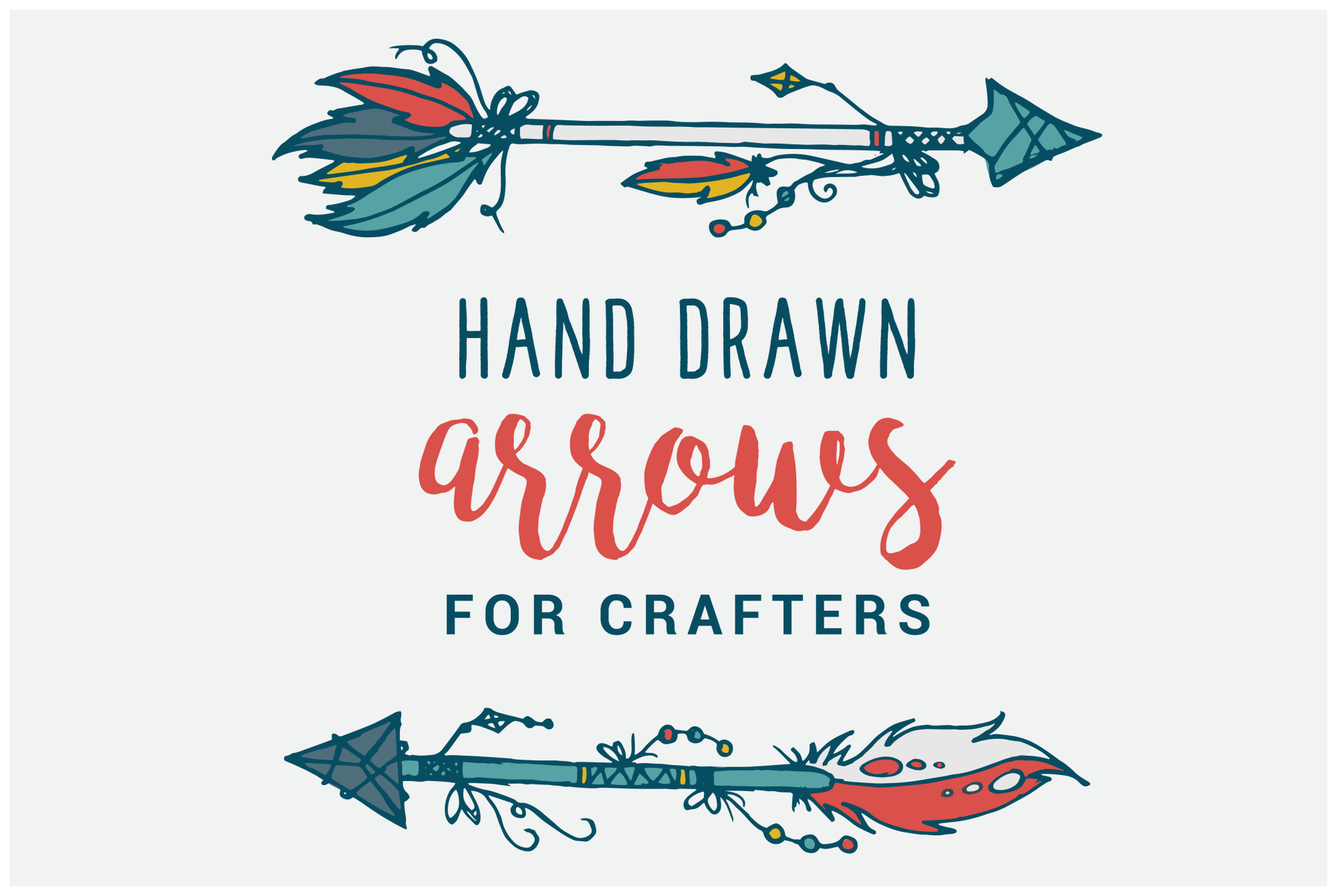 Hand Drawn Arrows for Crafters example image 1