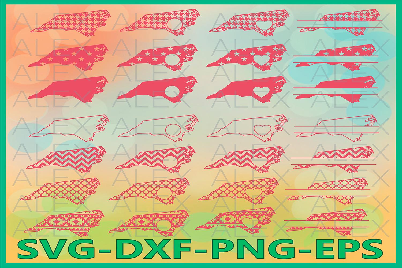 North Carolina State SVG, North Carolina Svg Files example image 1