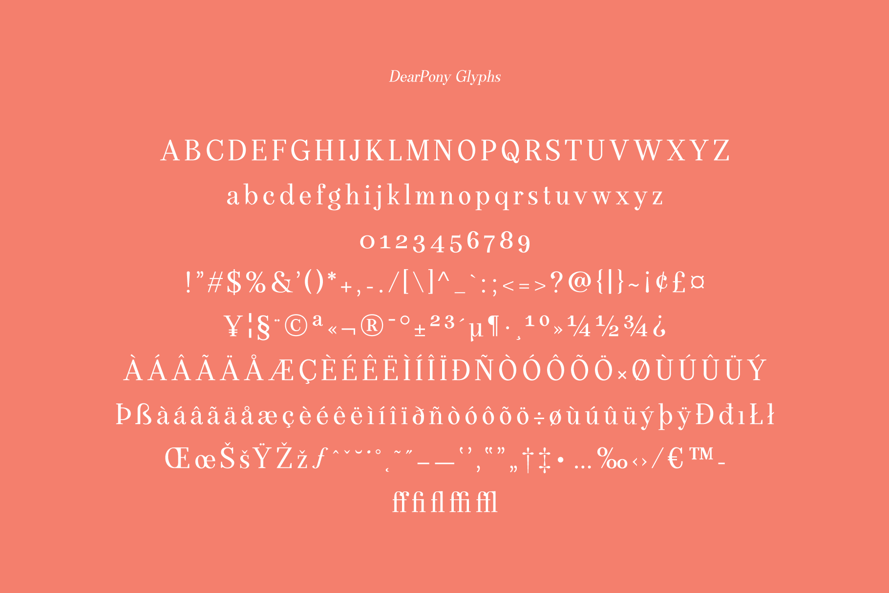 DearPony Sweet Classy Serif Font example image 11