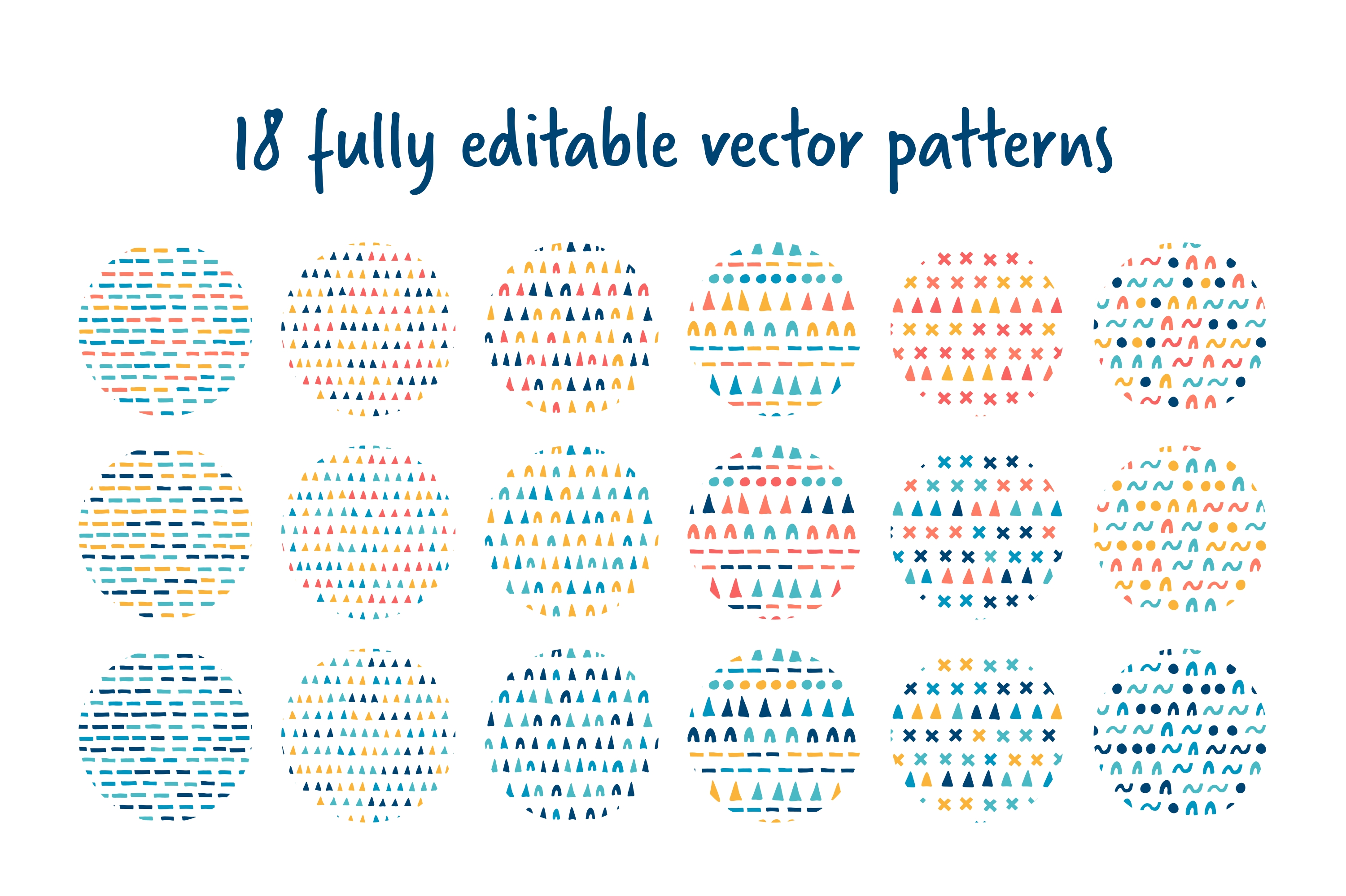 Playful pattern collection vol.1 example image 3