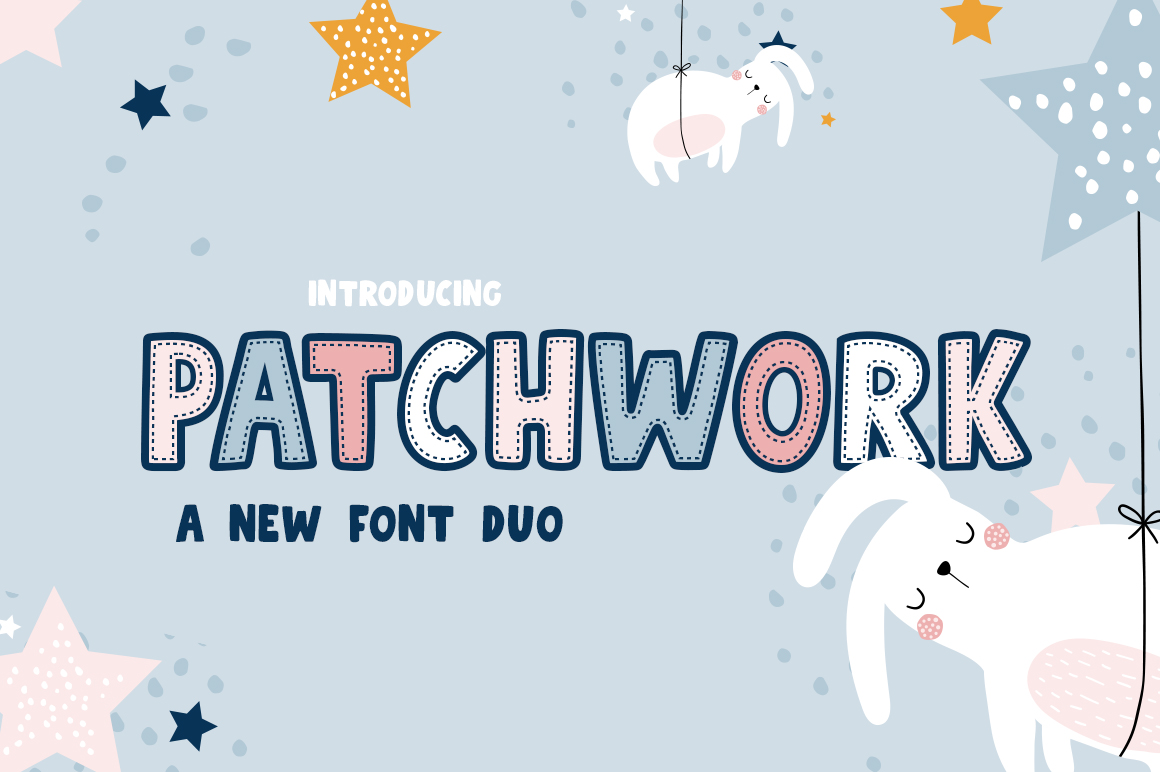 Patchwork Font Duo example image 1